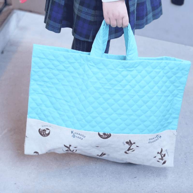 縫わないバッグの作り方。ミシンいらずの時短「裁縫テク」