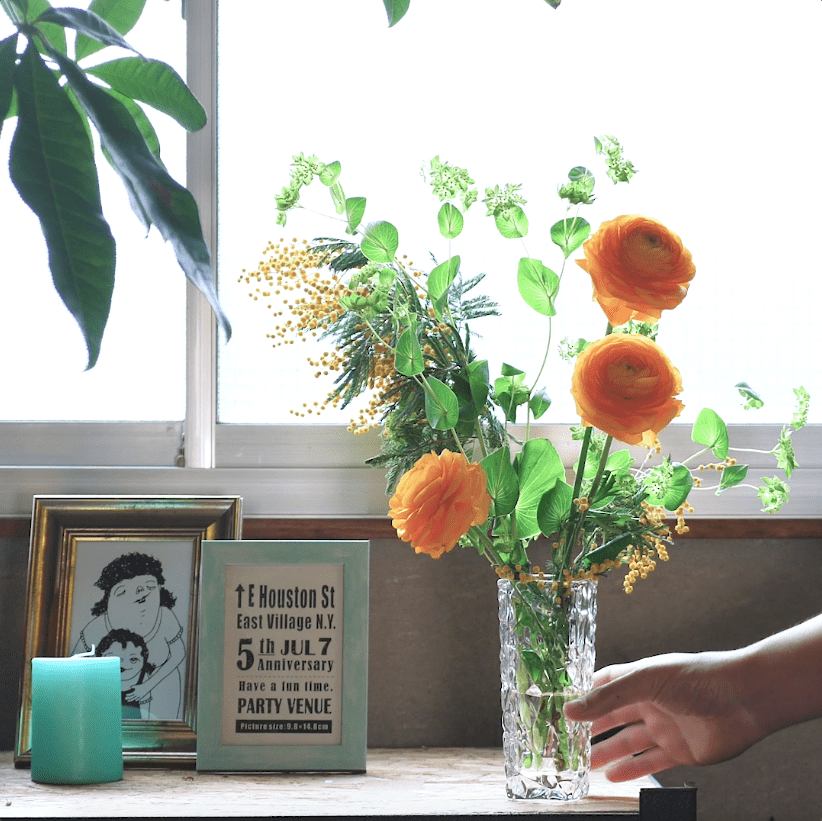 お花の飾り方講座|コツをつかんで今日から彩りのある生活を