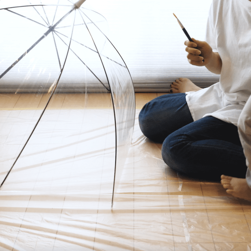 親子で「オリジナル傘DIY」。子どもと楽しむペイントアイデア