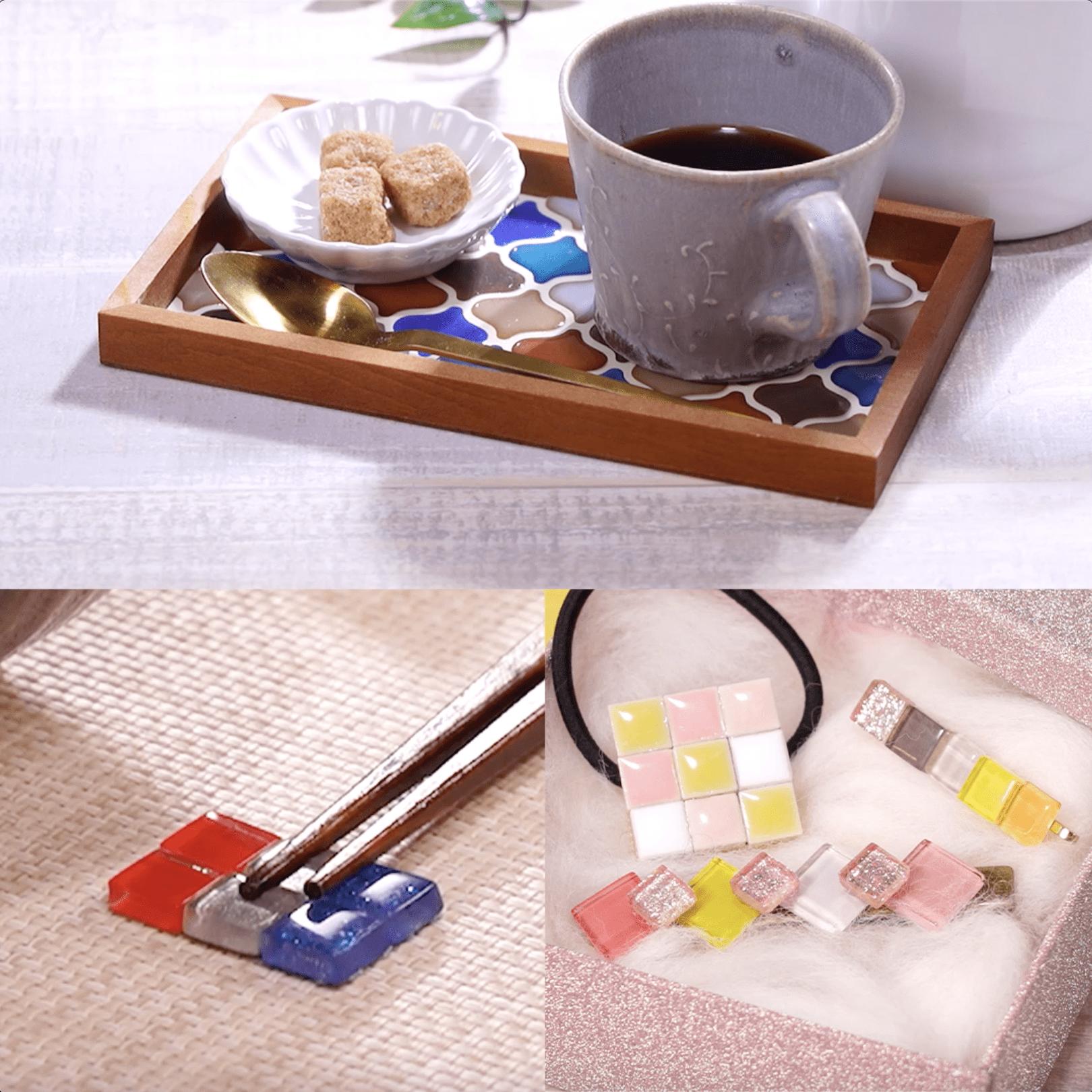 タイルを使って簡単DIYにチャレンジ。かわいい小物を作ろう