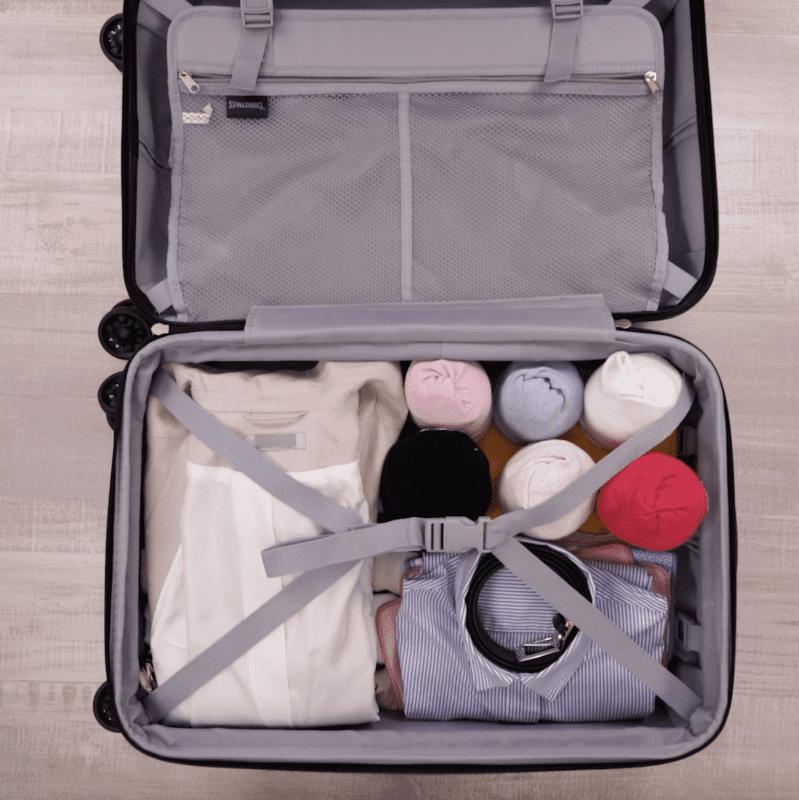 便利なパッキング術。「たっぷり収納」で長期旅行に役立つ!