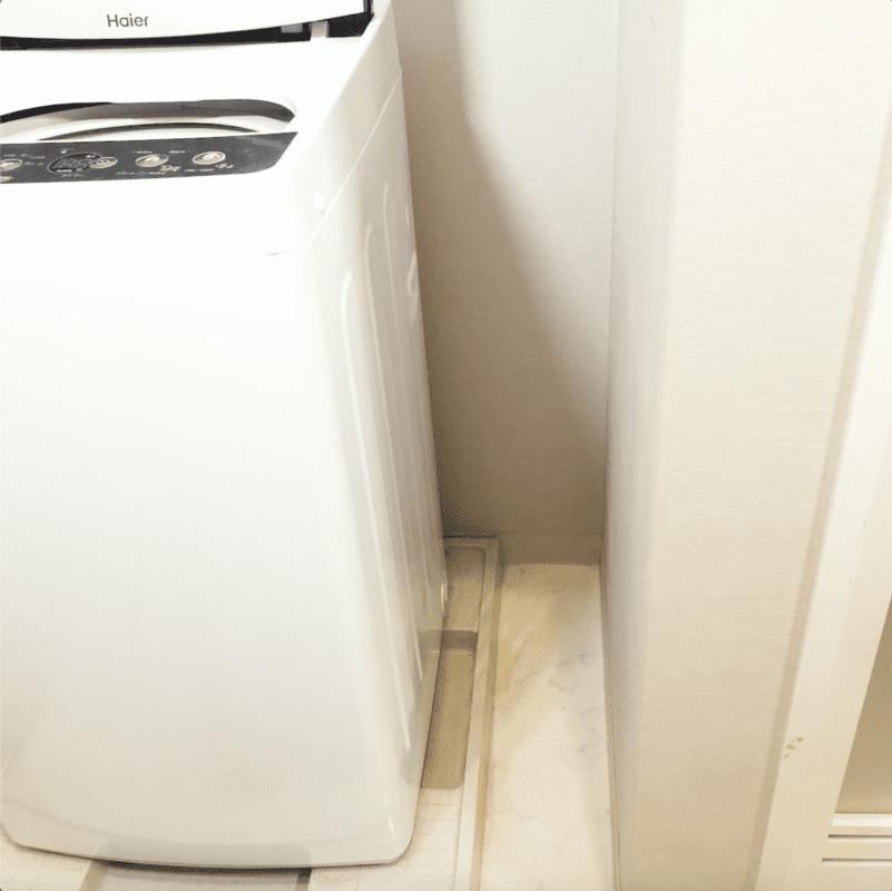 100均グッズで解消!洗濯機横のデッドスペースを有効活用しよう