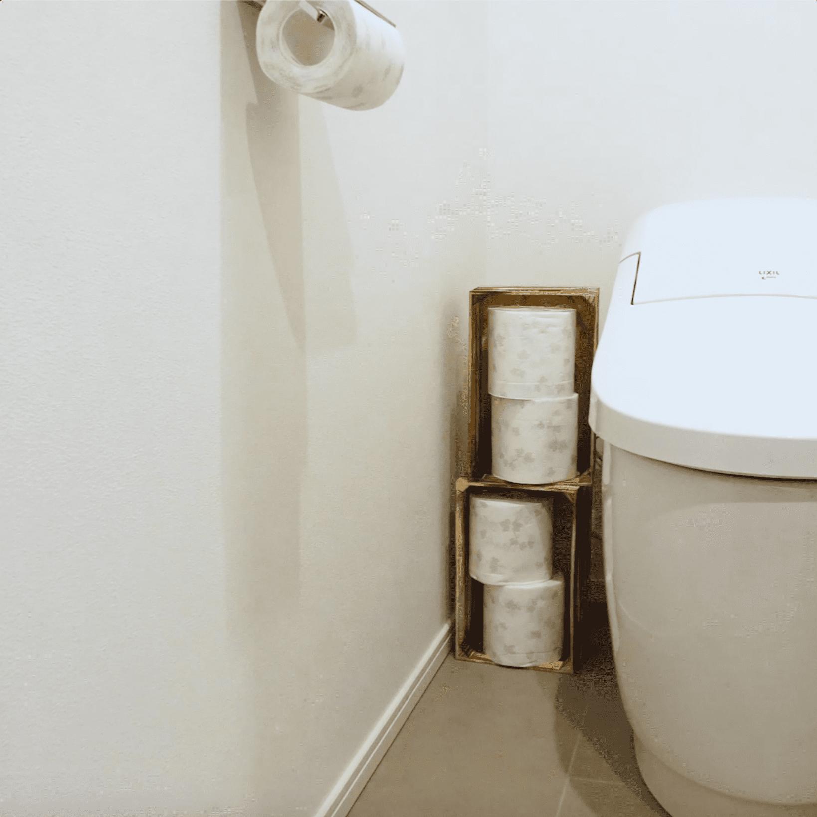 スタイリッシュで生活感ナシ?トイレやリビングを簡単おしゃれに